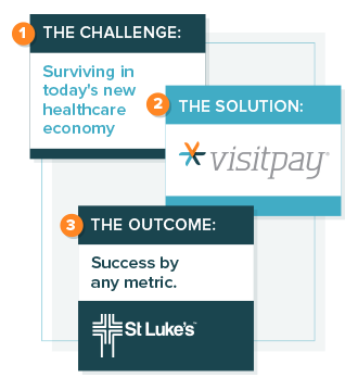 VisitPay solution graphic